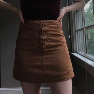BCBGeneration Skirts - 🥀SOLD🥀 Suede Skirt